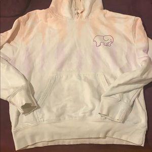 Tie dye Sweatshirt Ivory Ella